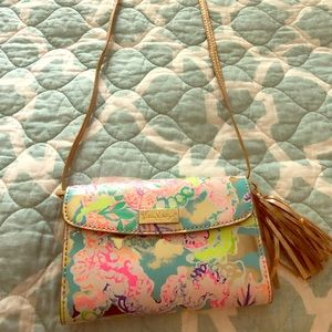 Lilly Pulitzer Crossbody Purse limited edition